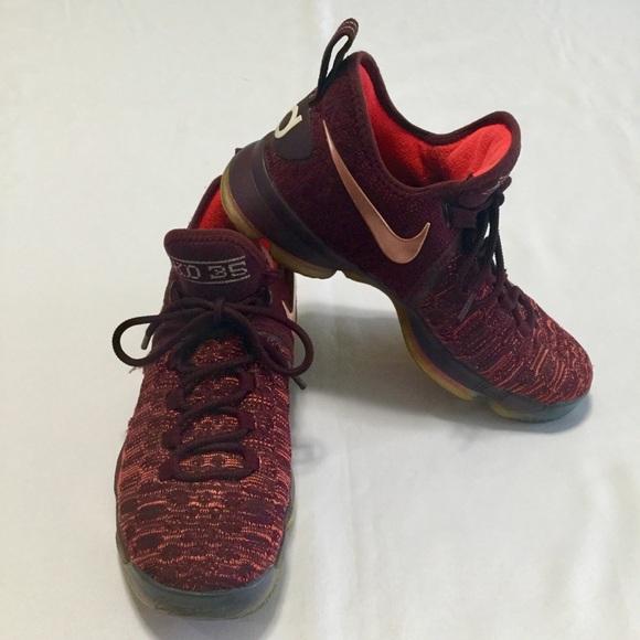 timeless design 3f3b7 e05fa Nike Zoom KD 9 Xmas Sauce Durant Sz 8 Red